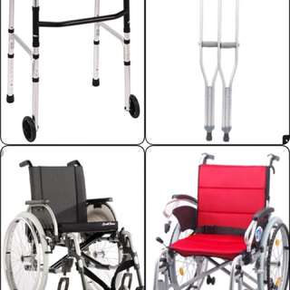 Needed for a charity organization. Please contact us if you like to donate wheelchairs and crutches  for charity