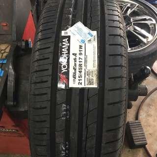 215/45/17 AE50 Yokohama Tyre