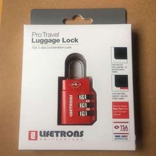 Lifetrons Switzerland Pro Tavel Luggage Lock瑞士品牌行李密碼鎖