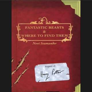 Fantastic beast and where to find them - jk rowling