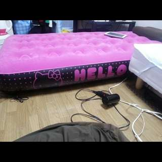Hello Kitty Automatic Air Bed