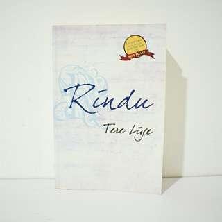 Buku Novel Rindu - Tere Liye