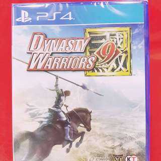 [BRAND NEW] PS4 DYNASTY WARRIORS 9