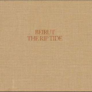 BEIRUT 'The Rip Tide' Limited Edition Gatefold Hardcover Cloth LP