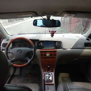 Toyota altis 2001 model 1.8G top of the line