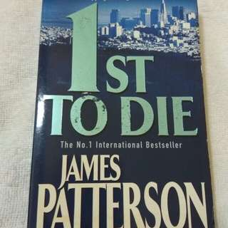 James Patterson - 1st to die