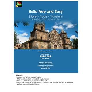 Iloilo Free and Easy Tour