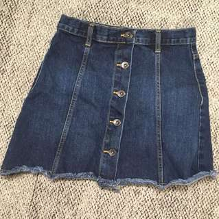Denim skirt high waisted From forever 21