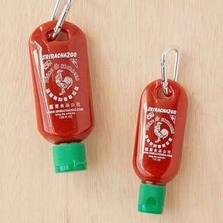 Sriracha2Go keychain