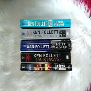 Ken Follett Paperbacks