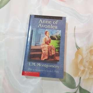 Anne of Avonlea by L.M. Montgomery (classic novel)