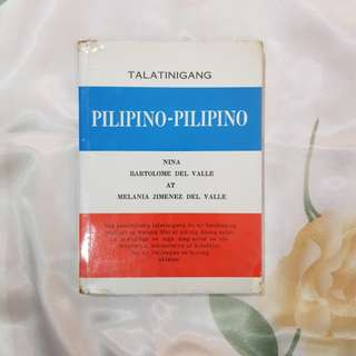 Pilipino-Pilipino dictionary