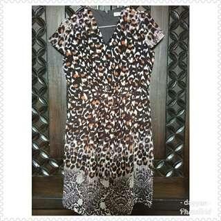 dress mint leopard