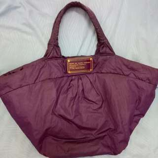 Authentic Marc by Marc Jacobs purple Hobo tote