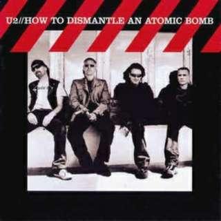 arthcd U2 How To Dismantle An Atomic Bomb CD+DVD (Vertigo, Sometimes You Cant Make Ot On Your Own etc)