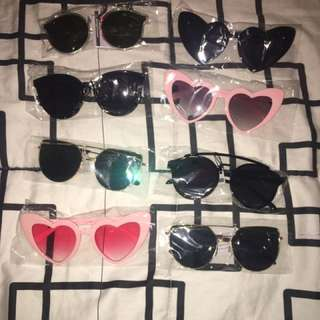 2 Fashion Sunnies for P170