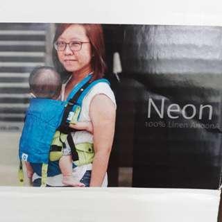Soul Neon Linen Baby Carrier