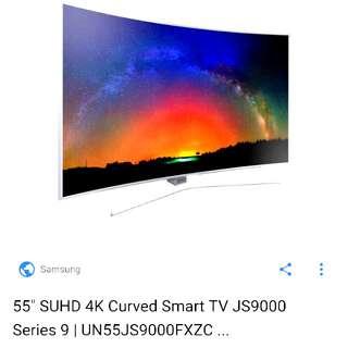 "Samsung 55"" SUHD 4K Curved Smart TV JS9000"
