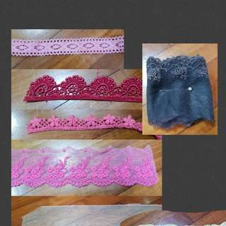 Lace cloth fabric