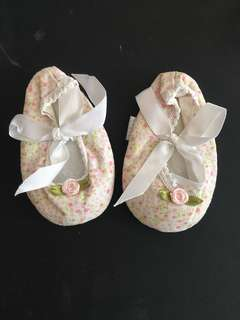 Anakku Baby Girl Floral Shoes