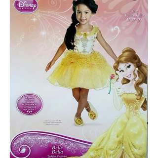 Disney original Belle Princess dress