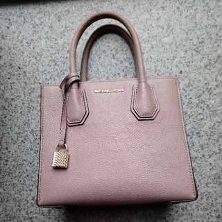 Authentic Michael Kors Mercer medium leather handbag