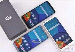年底大平賣,全新 LG G6 韓版G600 64GB ($2400) (送.貼.套),黑白藍。g5 v20