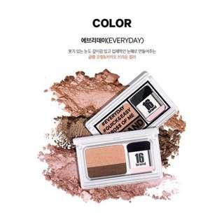 INSTOCK! 16 Brand 3 Seconds eyeshadow