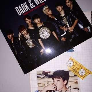 BTS DARK&WILD限量台壓版專輯