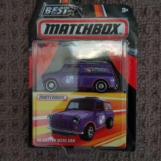 Matchbox Austin Mini Van