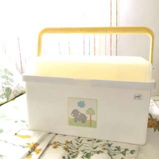 Mothercare baby box nappy caddy organiser
