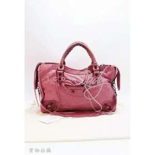 BALENCIAGA 115748 Classic CITY 粉紅色 手提袋 肩背袋 手袋