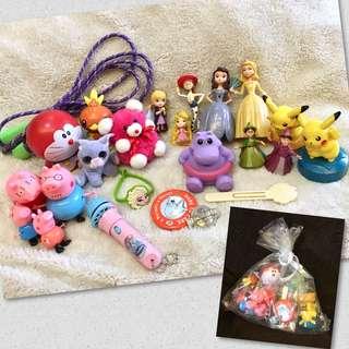 Large Bag of 24-pcs Assorted Random Girl Toys
