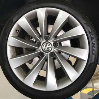 """Original Volkswagen 18"""" Rims"""