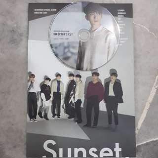 SEVENTEEN DIRECTOR'S CUT UNSEALED ALBUM