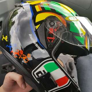 AGV K3 SV TARTARUGA ASIAN FIT