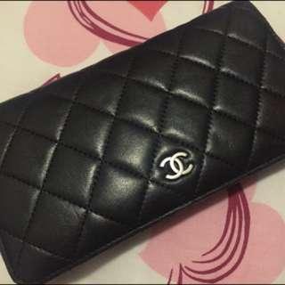 Chanel 羊皮銀包