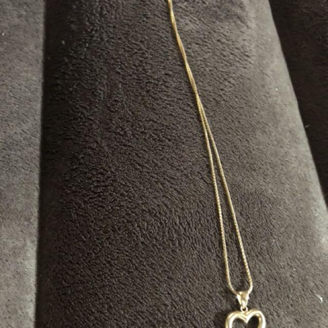 14kt golden necklace
