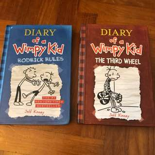Diary of A Wimpy Kid /3rd wheel/Roderick Rules