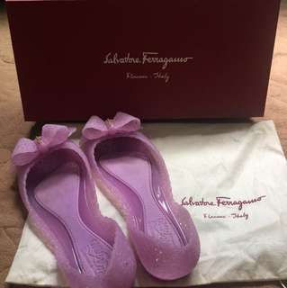 Ferragamo Jelly Shoes
