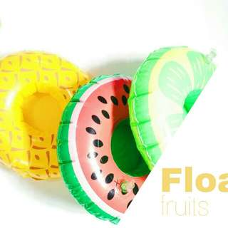 Floaties cup holder buah buahan