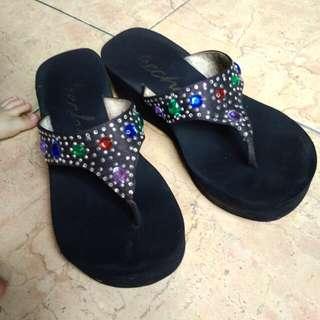 Branded sandal