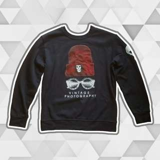 'Vintage photography' Korean sweatshirt