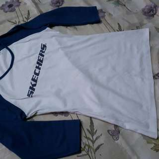 Skechers 3/4 sleeve