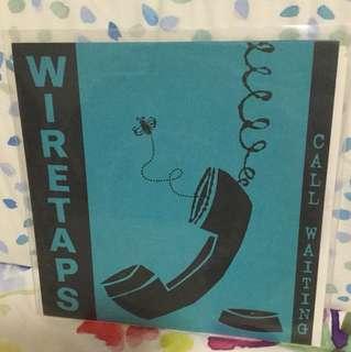 """Wiretaps - call waiting - 7"""" vinyl record single - grunge era"""