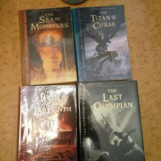 Percy Jackson and the Olympians Series (Books #2-5)