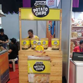 Jovinz Salted Egg Potato Chips Franchise