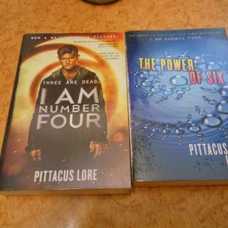Lorien Legacies Books 1-2