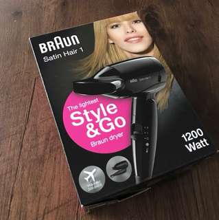 Braun Hair Dryer (Satin Hair 1)