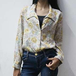 Floral Thrift Shirt